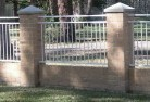 Ashburton Brick fencing 5